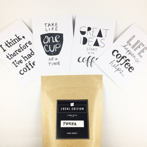 Coffee Beans & Coffee Postcards