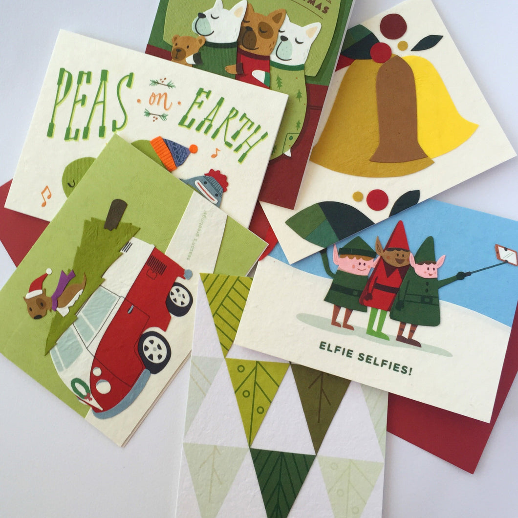 Handmade Christmas Cards - Gift Set