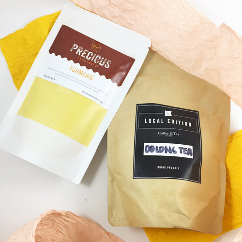 Turmeric Powder & Oolong Tea