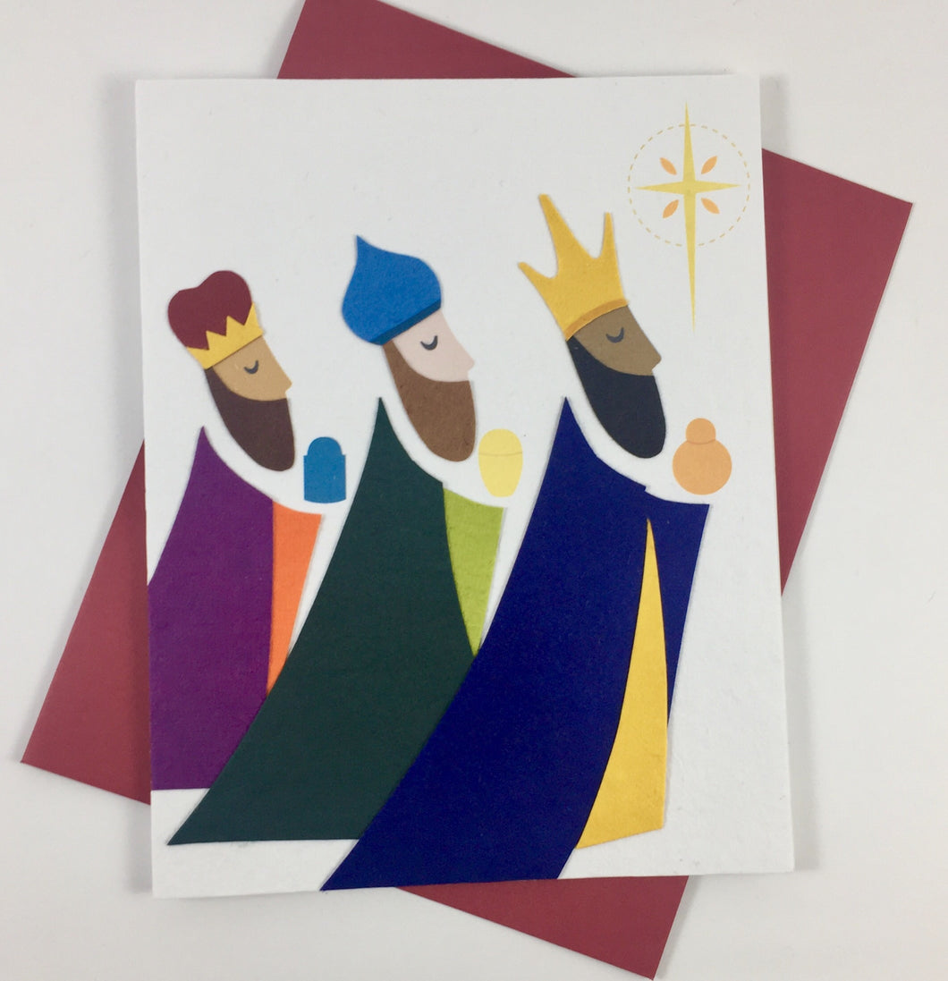 Three Kings - Handmade Card