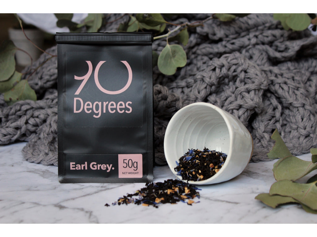 EARL GREY - classic blend with organic bergamot pieces