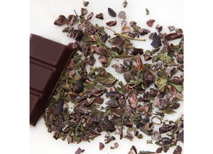 INDULGENCE - organic blend of peppermint & cacao - 90degrees tea