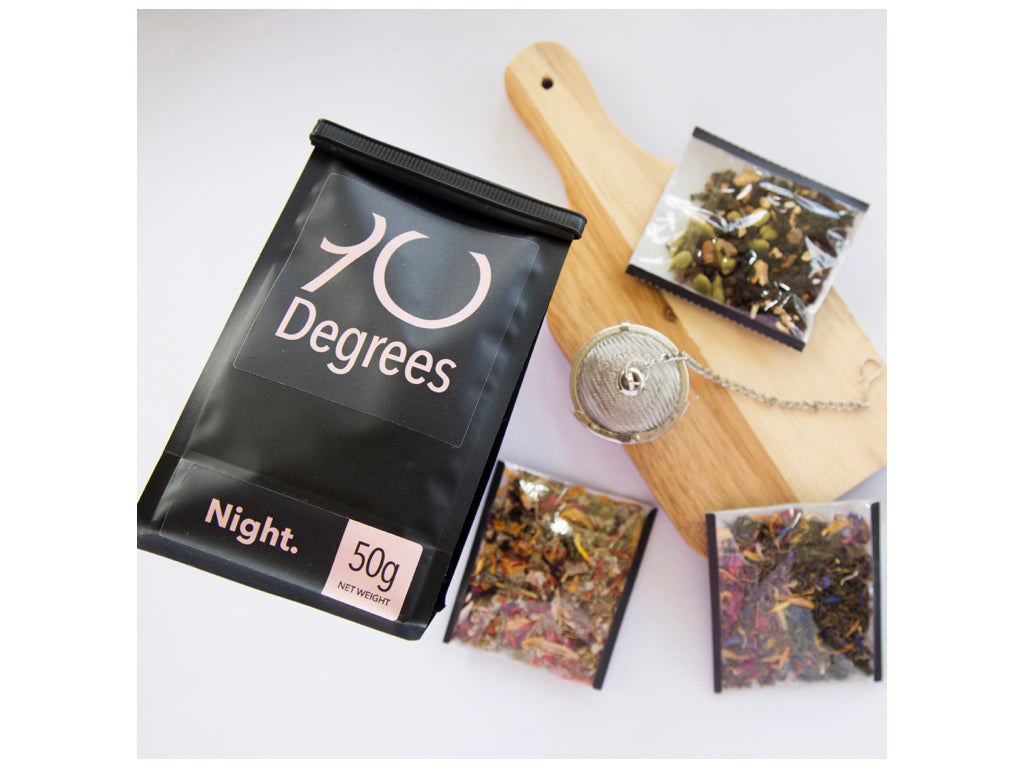 NIGHT - subtle and floral organic herbal blend