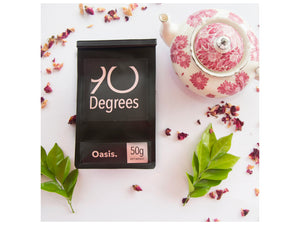 OASIS - organic green tea with flowers