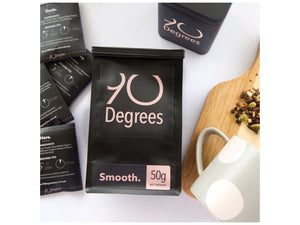 SMOOTH - organic blend of peppermint & cinnamon - 90degrees tea