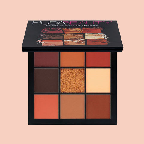 Get Huda Beauty Obsessions Palette Warm Brown on Altcos for free + fast shipping!