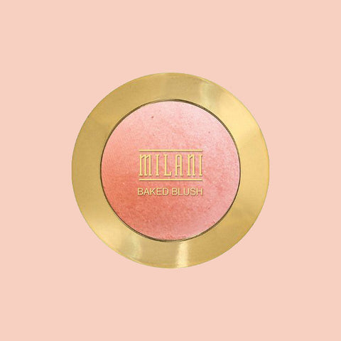Milani baked blush available in Singapore. Pigmented and highly raved.