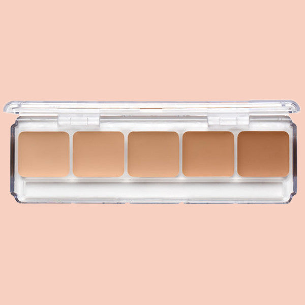 RCMA 5 part series favourites palette cream foundation available in Singapore! Mix and apply to fit your shade.