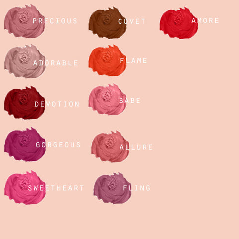 Milani Amore matte lip creme available in Singapore. Waterproof, smudgeproof, round the clock perfect lips