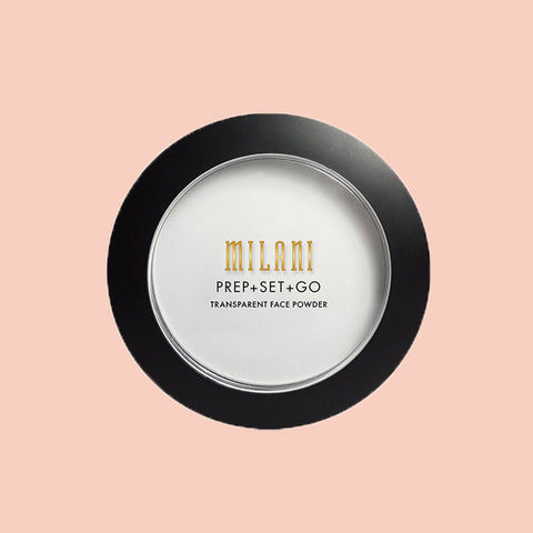 Milani Prep Set Go Transparent face powder available in Singapore. Shop now for fast and free shipping in Singapore