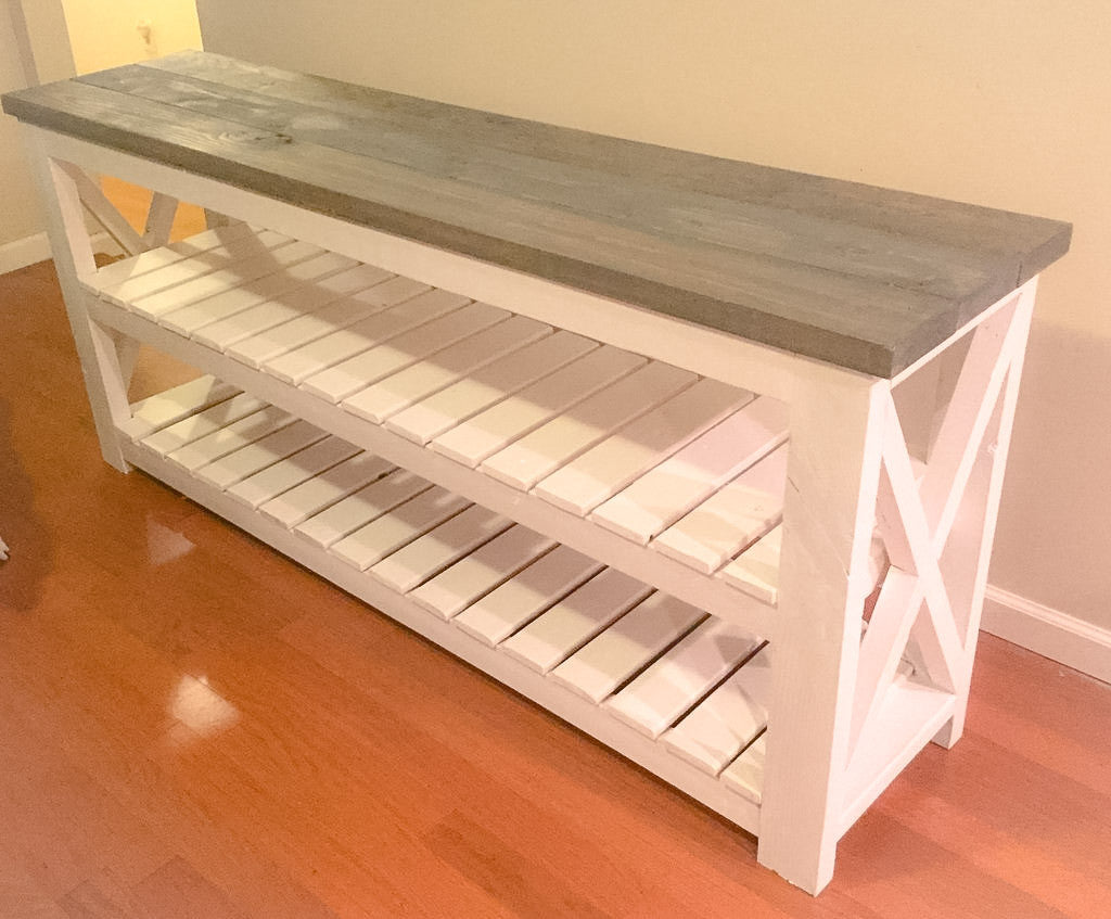 Handmade Built to order Console Table