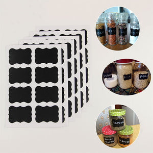 Chalkboard Jar Labels