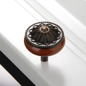 Colored Ceramic Knobs