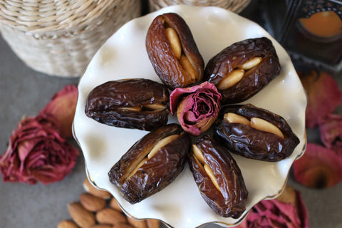 Gourmet Medjool Dates filled with Roasted Almonds, 20 pieces