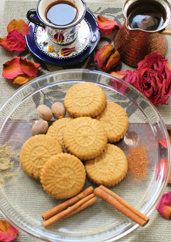 Cardamom Chickpea Cookies, 12-Pieces