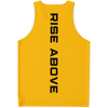 RISE ABOVE PERFORMANCE TANK - YELLOW