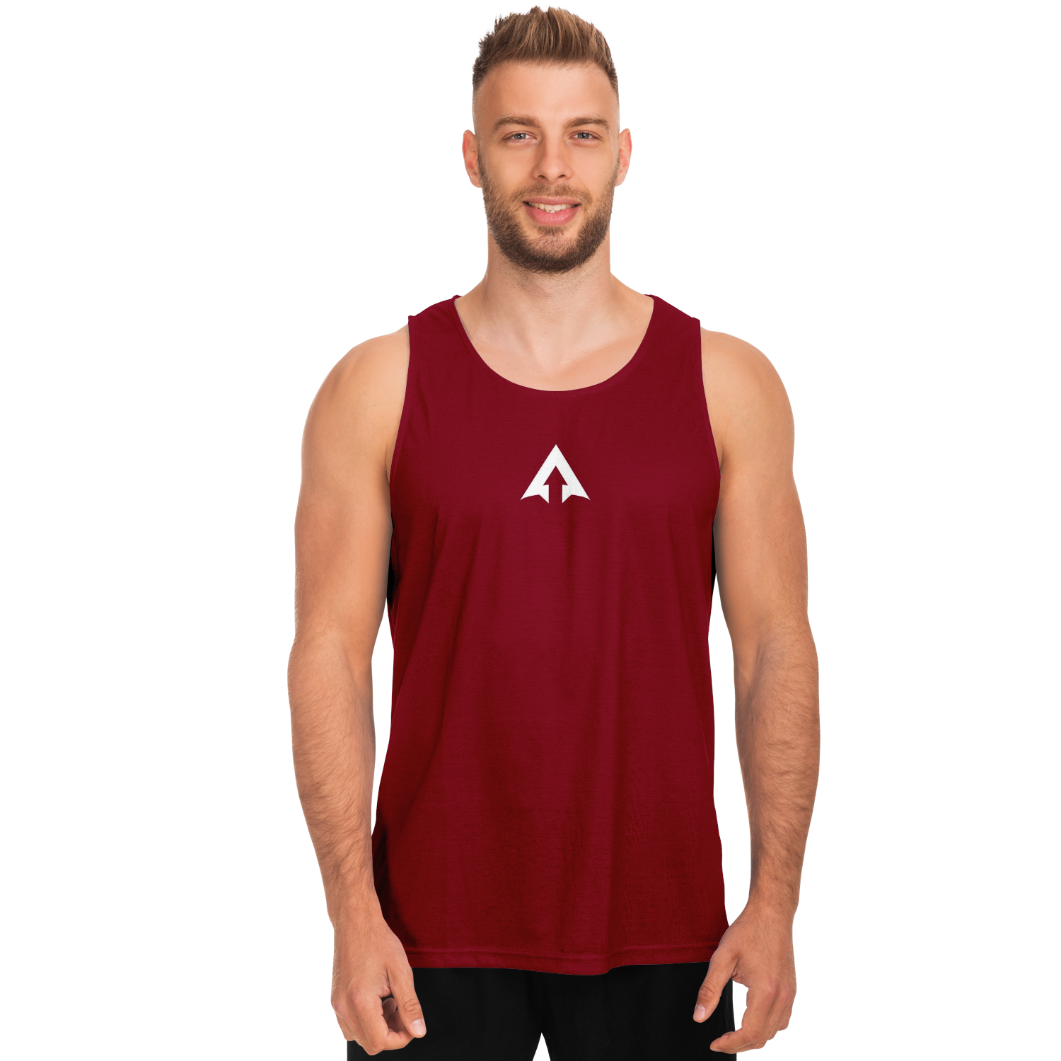 RISE ABOVE PERFORMANCE TANK - BURGUNDY