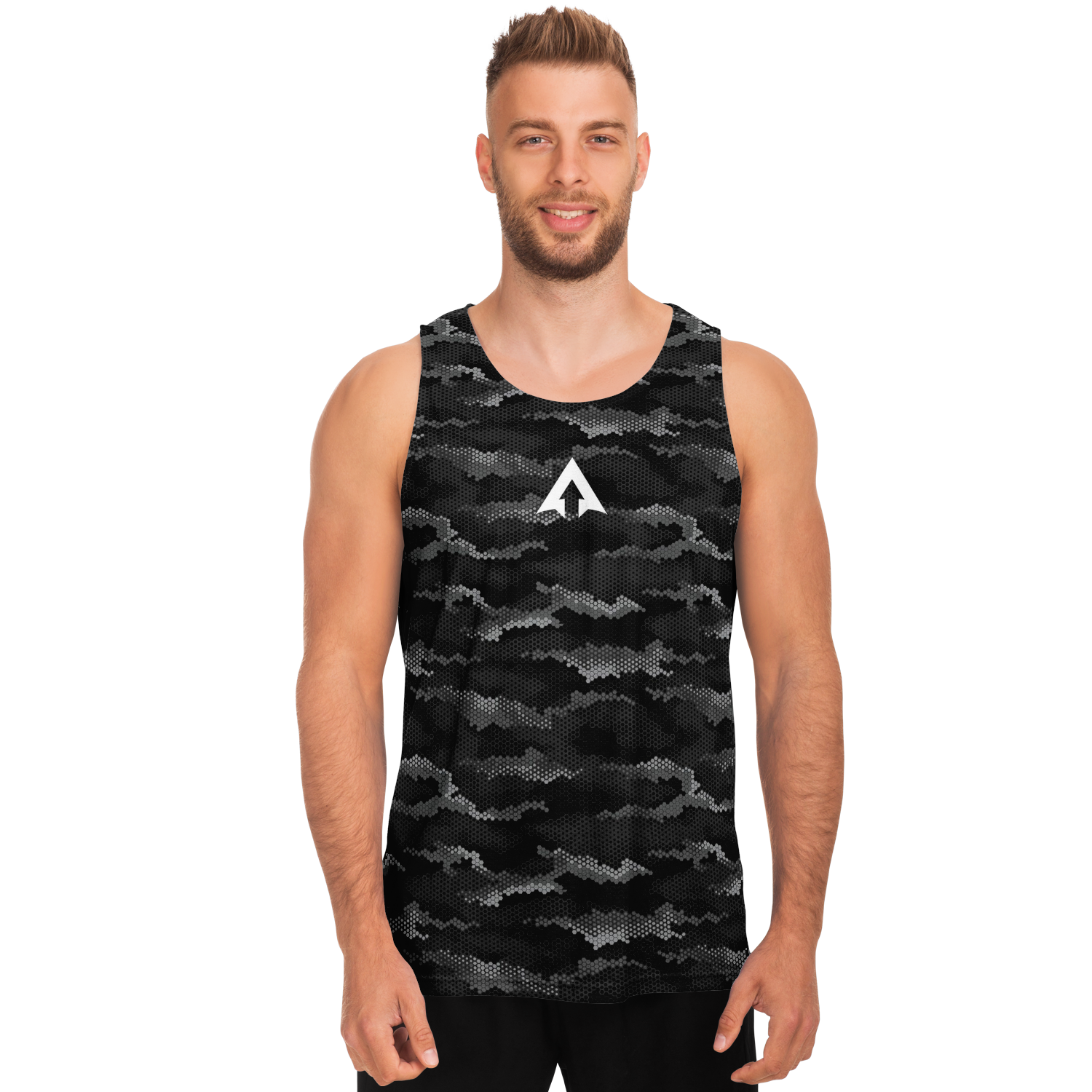 RISE ABOVE PERFORMANCE TANK - DIGITAL CAMO