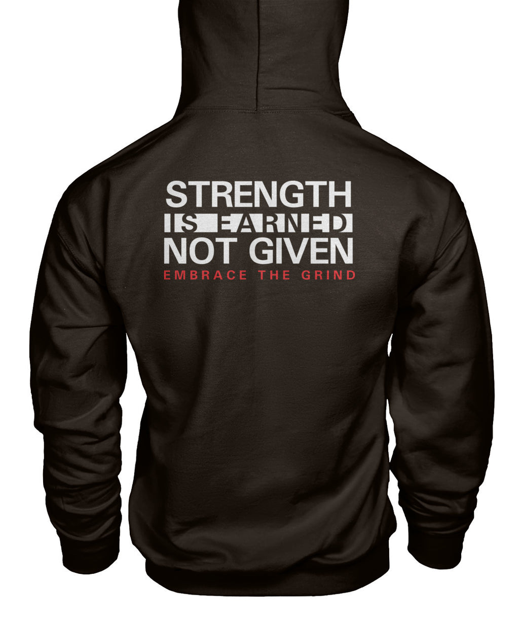 Embrace The Grind Men's Hoodie - Apex Fitness Co.