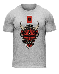HANNYA TEE - HEATHER GREY