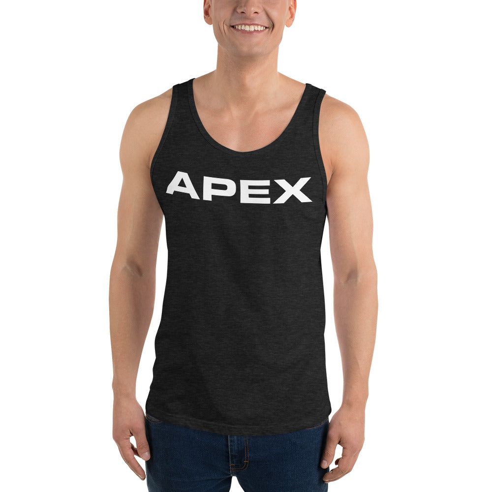 SIGNATURE TANK - CHARCOAL - Apex Fitness Co.