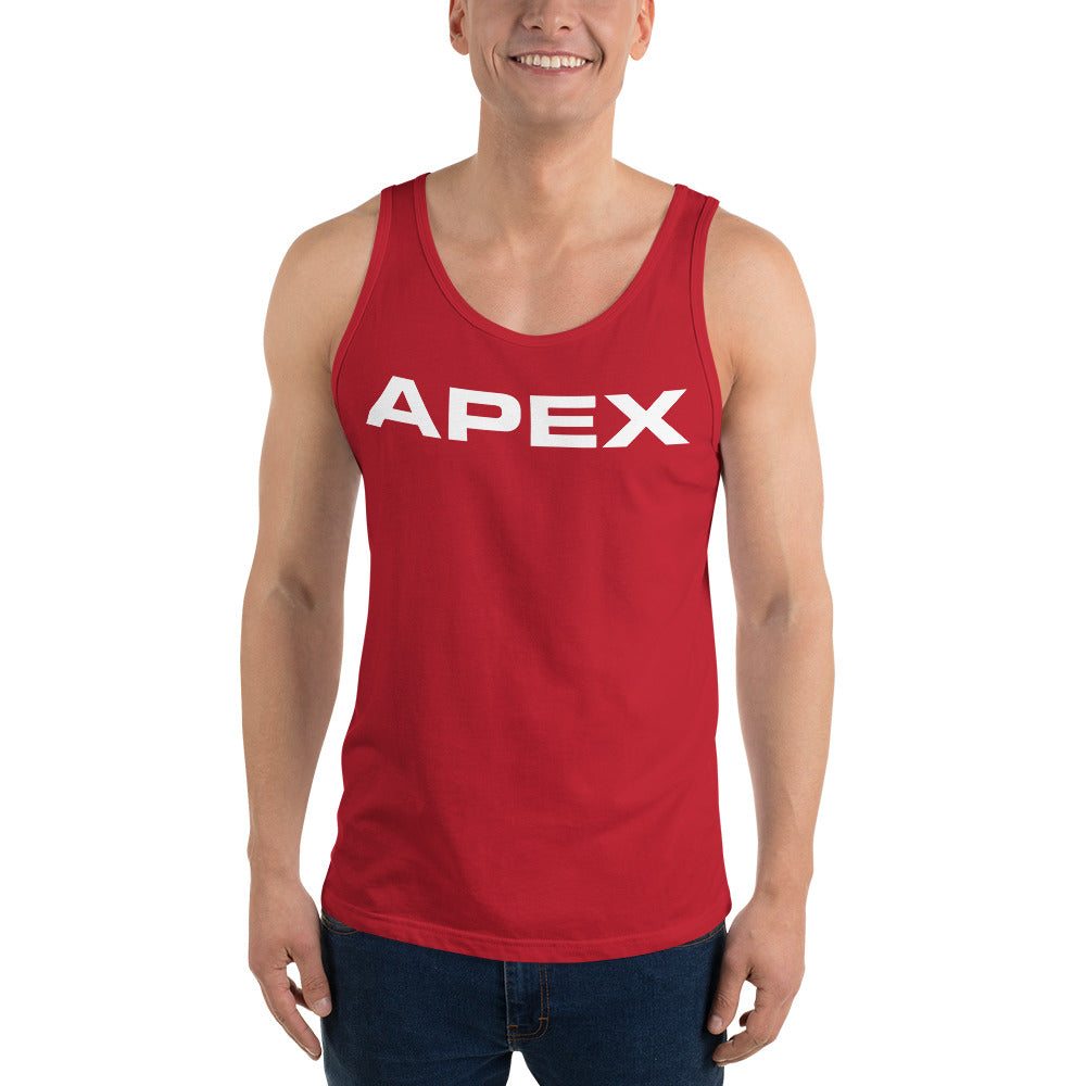 SIGNATURE TANK - RED - Apex Fitness Co.