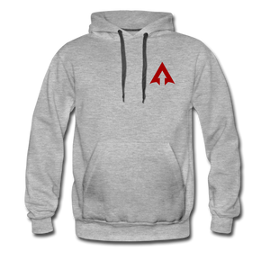 APEX FIGHT ACADEMY HOODIE - heather gray