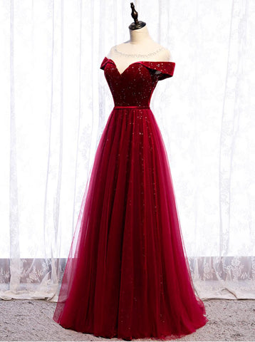 products/cap-sleeve-red-sparkly-tulle-long-cheap-evening-prom-dresses-evening-party-prom-dresses-12329-13710355398743.jpg