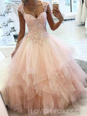 products/cap-sleeves-peach-ball-gown-lace-beaded-long-evening-prom-dresses-cheap-sweet-16-dresses-18431-4549309562967.jpg
