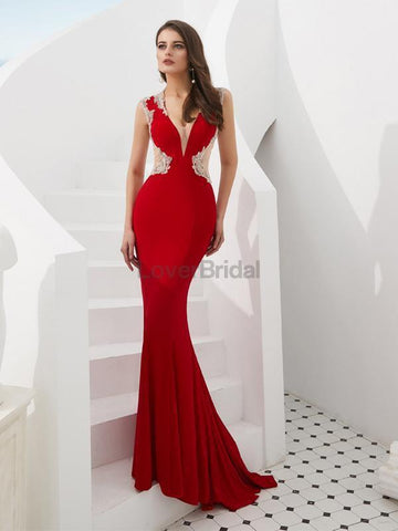 products/cap-sleeves-red-beaded-mermaid-see-through-evening-prom-dresses-evening-party-prom-dresses-12087-13339488092247.jpg