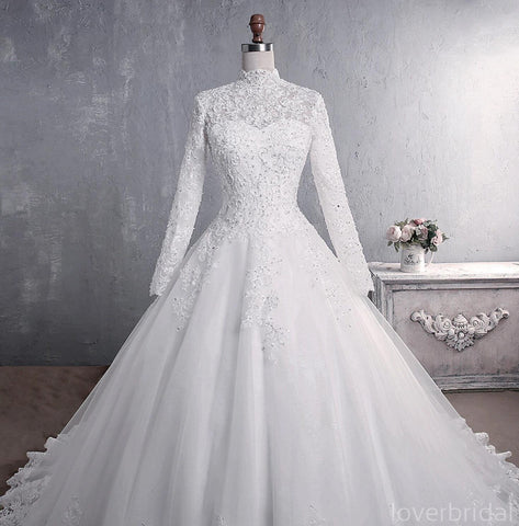 products/cheap-long-sleeves-high-neck-modest-wedding-dresses-online-cheap-bridal-dresses-wd517-11769846661207.jpg