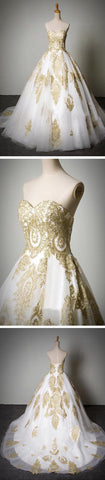 products/cheap-popular-classic-sweetheart-gold-lace-white-tulle-wedding-party-dresses-wd0071-16933136585.jpg