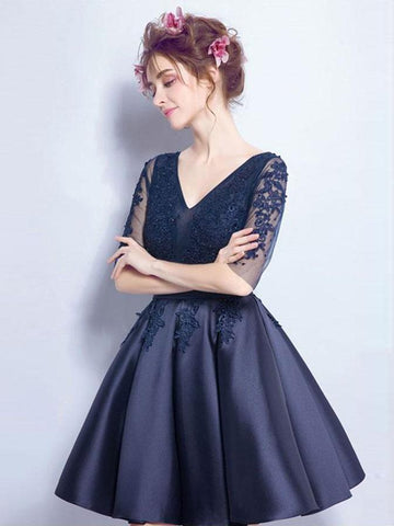 products/cheap-short-cute-long-sleeve-lace-navy-homecoming-dresses-2018-cm468-2591490637938.jpg
