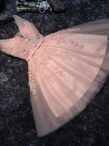 products/cheap-v-neck-peach-lace-beaded-cute-homecoming-dresses-cm445-2591496929394.jpg