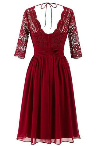 products/dark-red-long-sleeve-lace-short-bridesmaid-dresses-cheap-custom-short-bridesmaid-dresses-affordable-bridesmaid-gowns-bd024-1333193277468.jpg