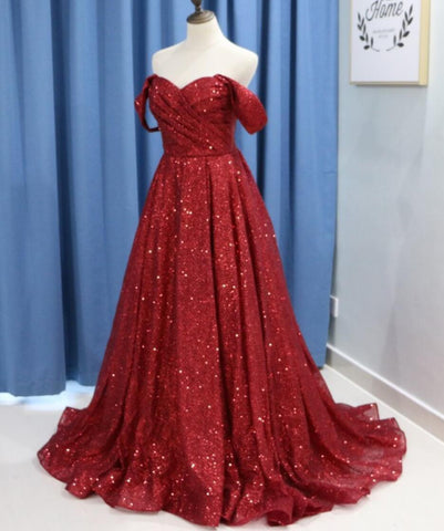 products/dark-red-sparkly-off-shoulder-a-line-long-evening-prom-dresses-evening-party-prom-dresses-12294-13683579977815.jpg
