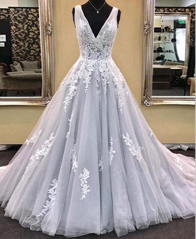 products/gray-deep-v-neckline-lace-a-line-long-evening-prom-dresses-popular-cheap-long-custom-party-prom-dresses-17332-2007132012572.jpg