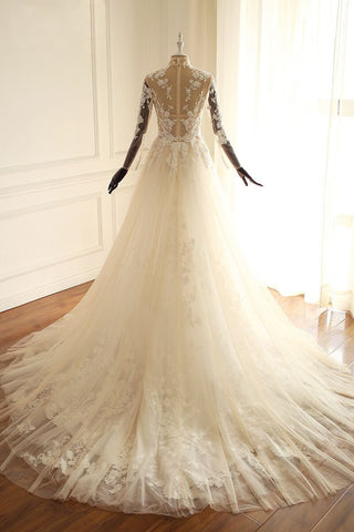 products/high-neck-see-through-a-line-lace-long-custom-cheap-wedding-bridal-dresses-wd298-3546715455602.jpg
