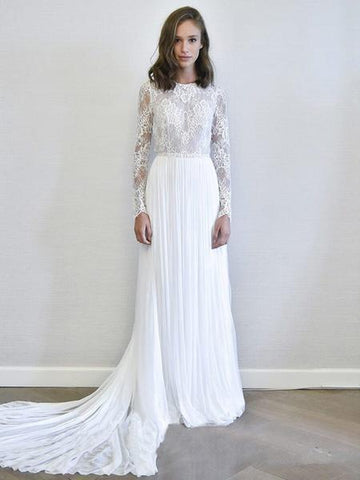 products/long-sleeves-lace-chiffon-cheap-wedding-dresses-online-cheap-bridal-dresses-wd492-11769831522391.jpg