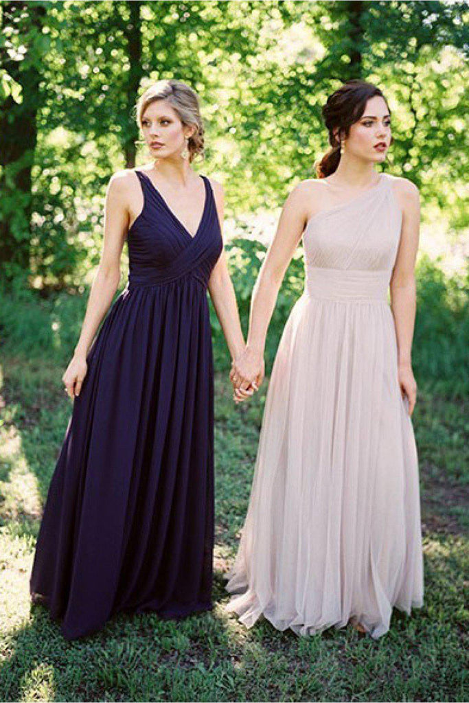 Mismatched Chiffon Cheap Bridesmaid Dresses Online, WG765