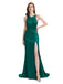 Mismatched Emerald Green Mermaid Cheap Bridesmaid Dresses Online, WG776