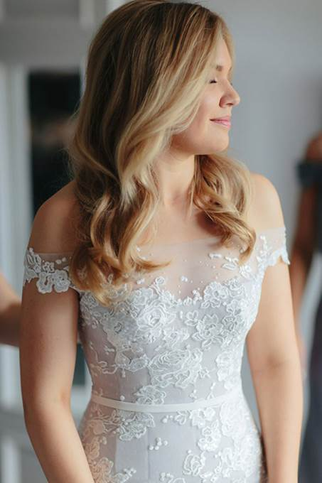 Off Shoulder Mermaid Lace Cheap Wedding Dresses Online, Cheap Mermaid Bridal Dresses, WD446