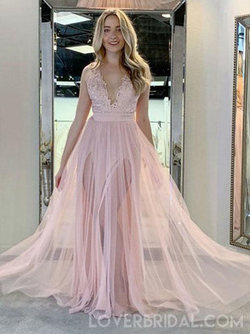 products/pale-pink-v-neck-side-slit-tulle-long-evening-prom-dresses-cheap-custom-sweet-16-dresses-18479-4592645111895.jpg