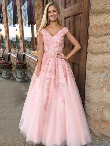 products/pink-v-neck-short-sleeve-lace-a-line-evening-prom-dresses-sweet-16-dresses-17591-2378010656796.jpg