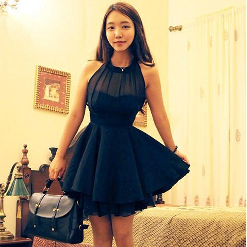 Popular Chiffon Simple Cheap Short Online School Graduation Homecoming Dress, WG704