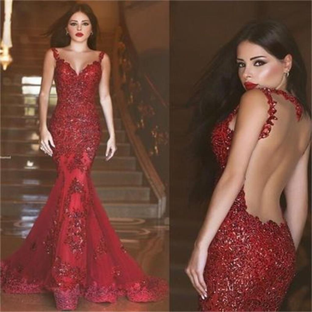 Red Prom Dresses, Mermaid Prom Dresses,Backless Long Prom Dresses,Sexy Prom Dresses,Party Prom Dresses,Evening Prom Dresses,Elegant Prom Dresses Online,PD0077