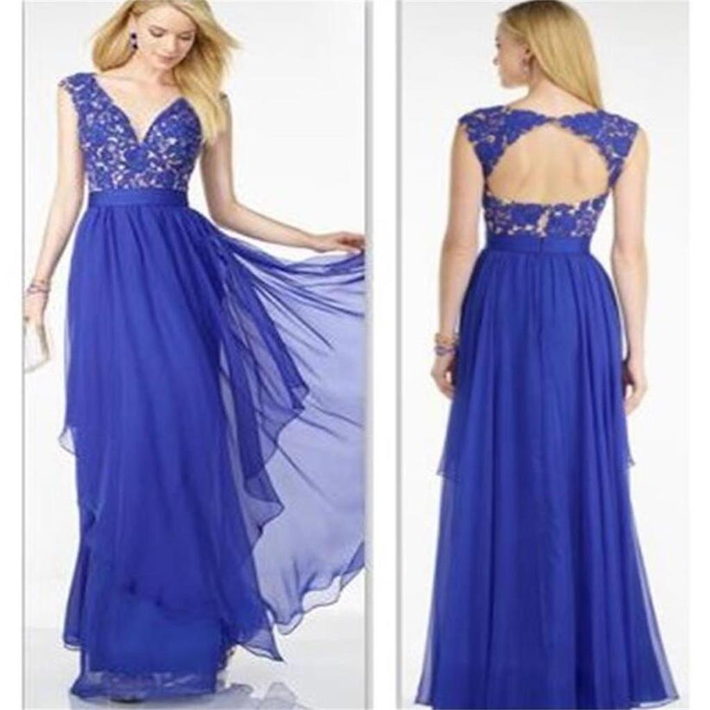 Royal Blue Prom Dress,Chiffon Prom Dress,Cheap  Prom Dress ,A-line Prom Dress,Affordable Prom Dresses ,Evening Dresses,Long Prom Dress,Prom Dresses Online,PD0130