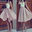 Strapless sweetheart unique mismatched simple homecoming prom gown dress,BD0043