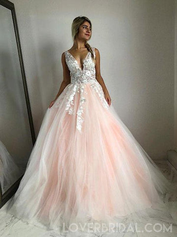 products/v-neck-lace-peach-tulle-a-line-long-evening-prom-dresses-cheap-sweet-16-dresses-18429-4549309890647.jpg