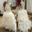 White Sexy Unique Sweet Heart Charming Long Wedding Bridal Gown, WG621